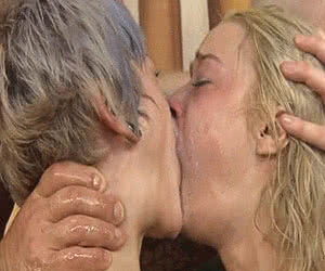 Category: double blowjob animated GIFs