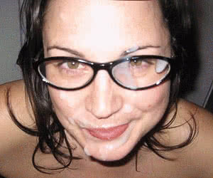 Glasses animated GIF