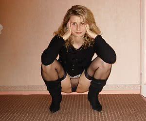 Squatting Female